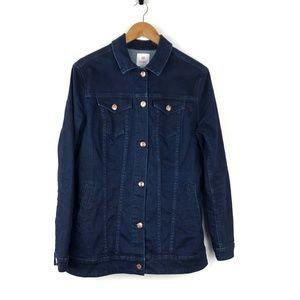 Lularoe Jaxon Dark Wash Denim Jacket